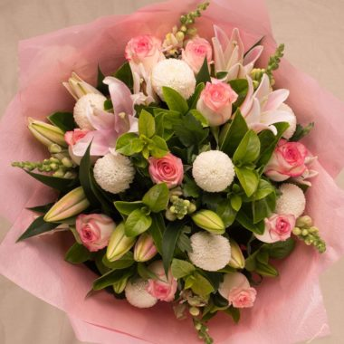 LARGE PALE PINK BOUQUET