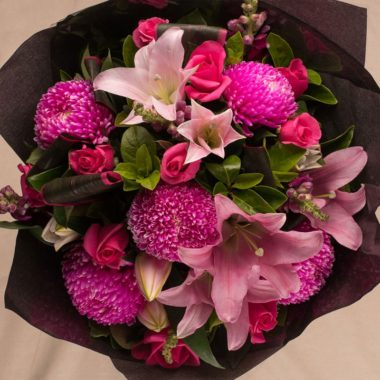 LARGE MAGENTA BOUQUET