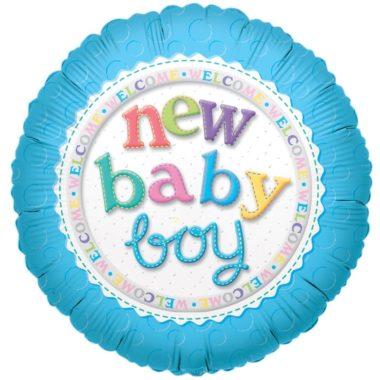 baby boy foli balloon
